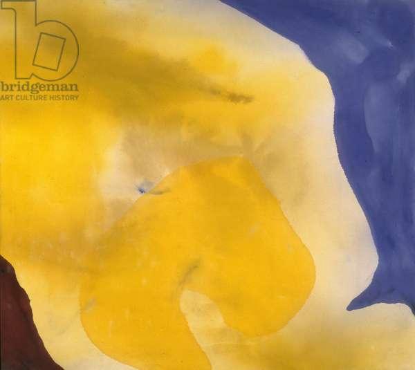 Yellow Vapor, 1965 (oil on canvas)