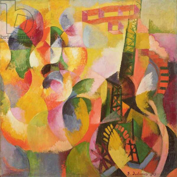Sun Tower, Airplane, 1913 (oil on canvas)