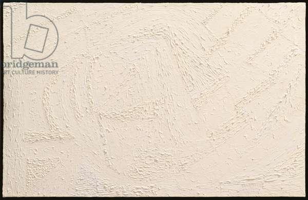 White on White, 1971 (oil on canvas)