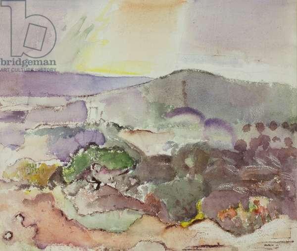 Landscape, 1916 (w/c)