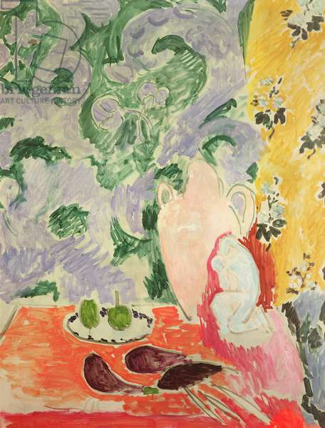 Still Life with Aubergines, 1911 (oil on canvas)
