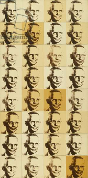 The American Man, Portrait of Watson Powell, 1964 (polymer paint)