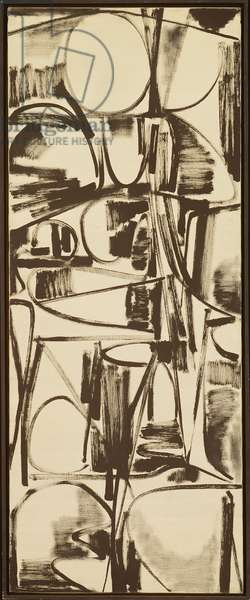 Calligraphic Painting, 1949-50 (oil on canvas)