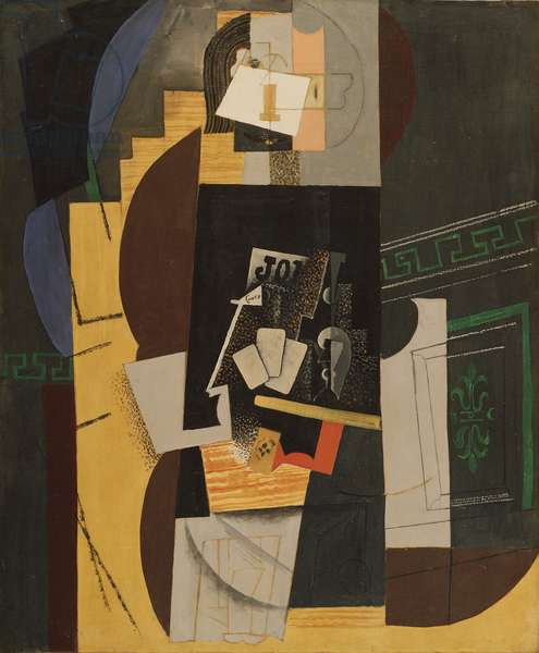 Card Player, 1913-14 (oil on canvas)