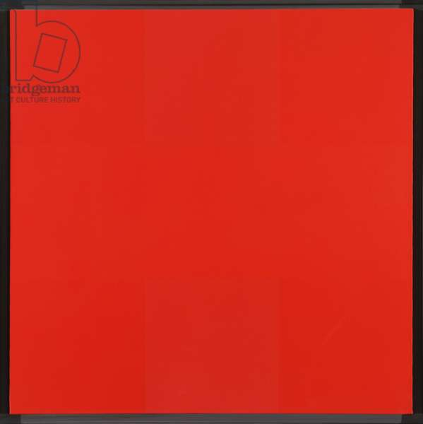 Abstract Painting, Red, 1953 (oil on canvas)
