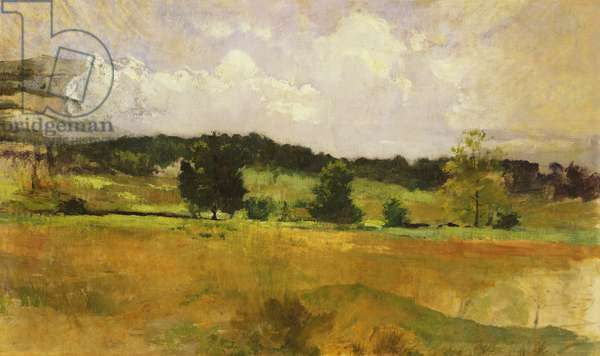 Landscape Study, c.1900 (oil on canvas)