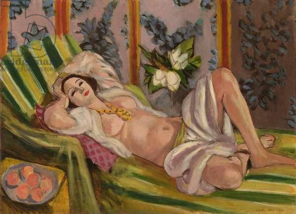 Odalisque Couchée aux Magnolias, 1923 (oil on canvas)