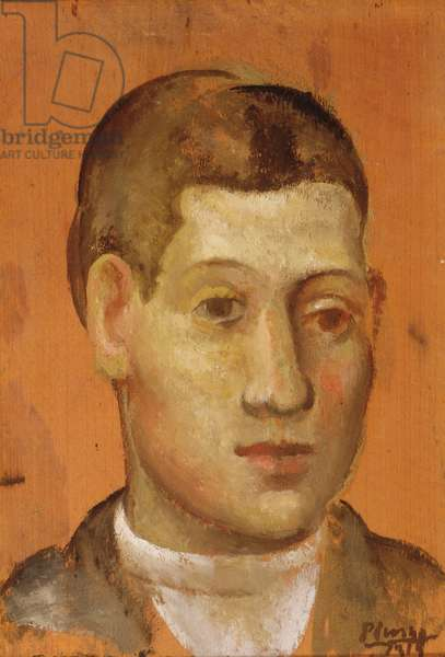 Portrait of a Young Man, 1915 (oil on panel)