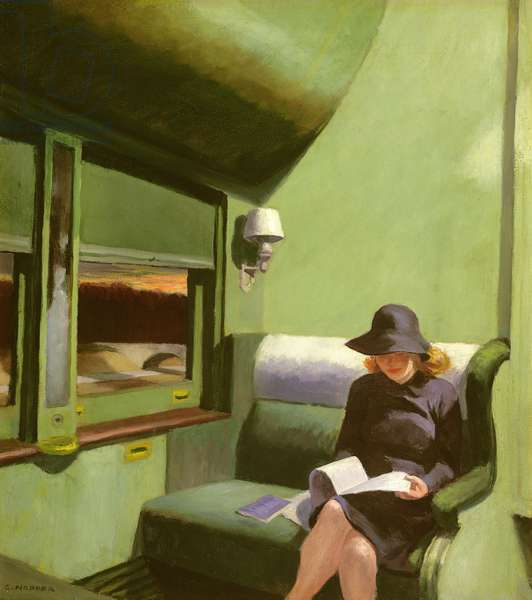 Compartment C, Car 293, 1938 (oil on canvas)