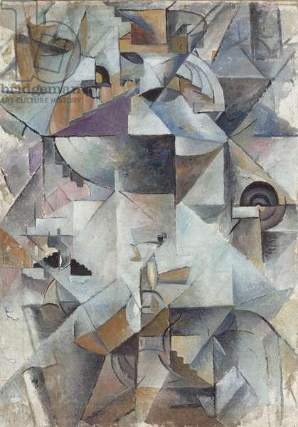 Samovar, 1913 (oil on canvas)