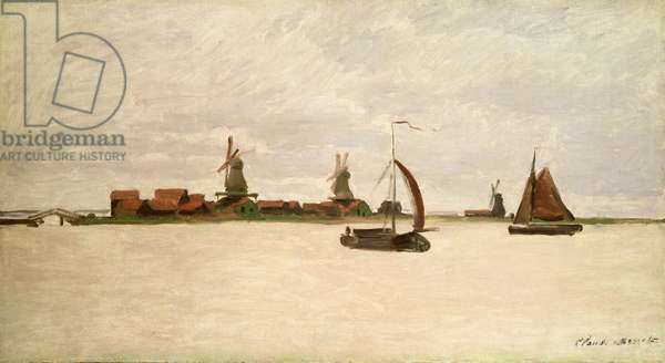 The Outer Harbour at Zaandam, 1871