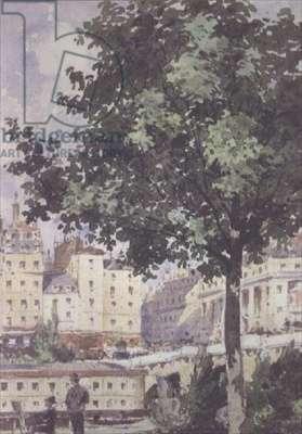 The Pont Neuf, 1893 (w/c)