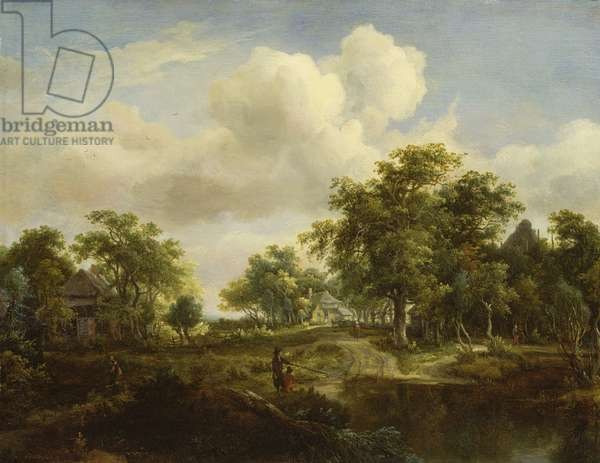 A Woodland Glade (panel)