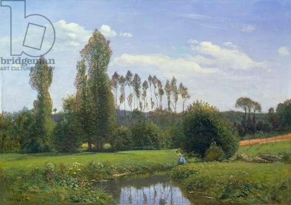 View at Rouelles, 1858