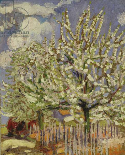 Blossoming Trees, 1908 (panel)
