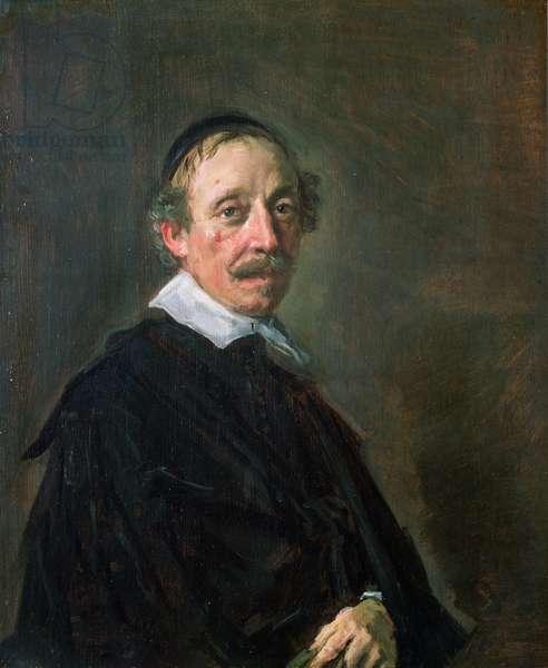 Portrait of a Preacher, c.1658-60 (panel)
