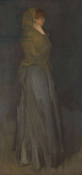 'Arrangement in Yellow and Gray': Effie Deans, c.1876-78 (oil on canvas)