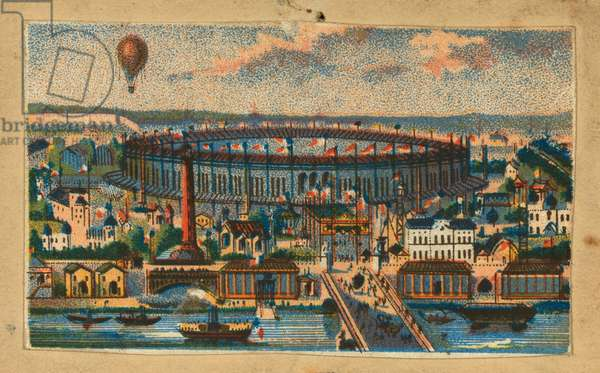 View of the Paris Exposition, 1867 (chromolithograh)