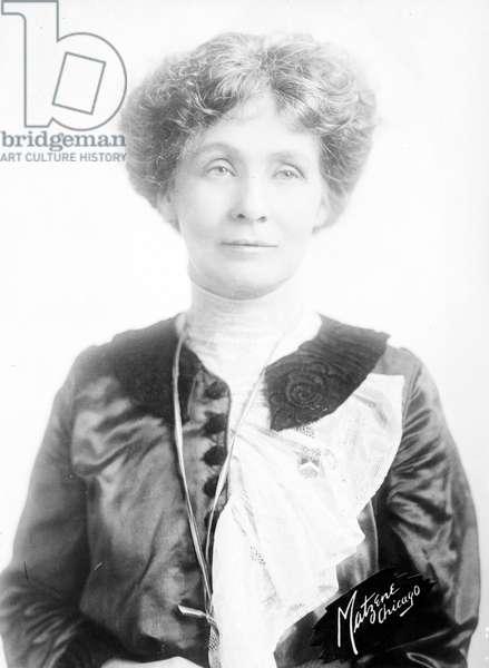 Mrs. Emmeline Pankhurst (1858-1928), 1912