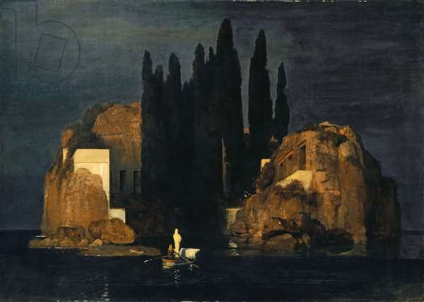 The Isle of the Dead, 1880 (oil on canvas)