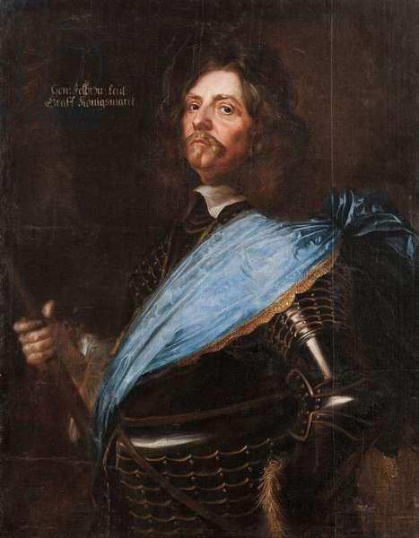 Field marshal Count Hans Christoffer von Königsmarck, 1651 (oil on canvas)