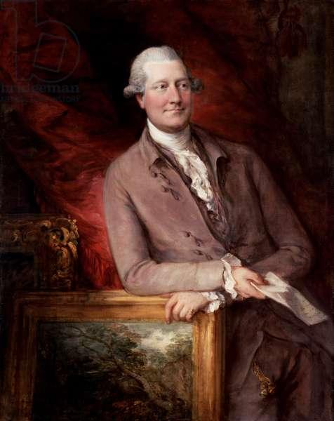 Portrait of James Christie (1730-1803), 1778 (oil on canvas)