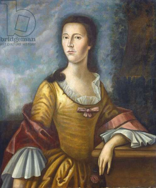 Mary Bethel Boude (Mrs. Samuel Boude), 1755-6 (oil on canvas)