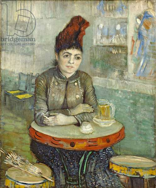 Woman in the 'Cafe Tambourin', 1887 (oil on canvas)