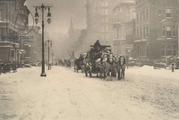 A Dreary Day, c.1897 (photogravure)