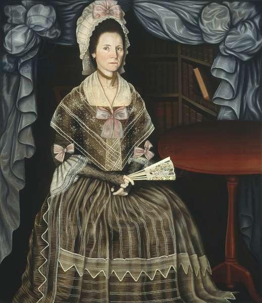 Mrs. Samuel Chandler, c.1780 (oil on canvas)