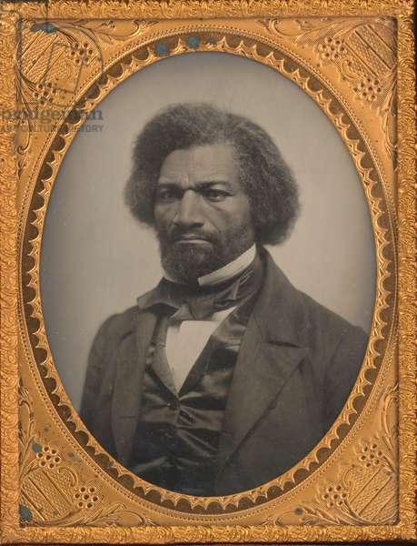 Frederick Douglass (1818-1895), 1856 (b/w photo)