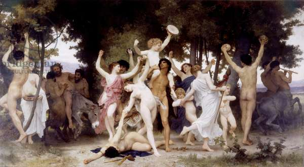 The Youth of Bacchus, 1884 (oil on canvas)