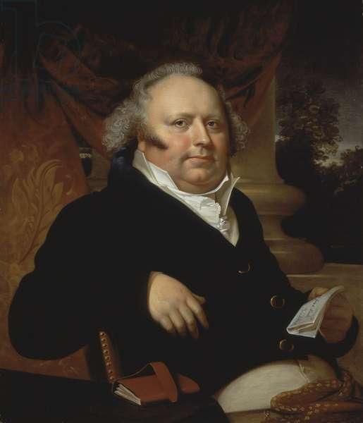 Portrait of Jacob Gerard Koch, c.1817 (oil on canvas)