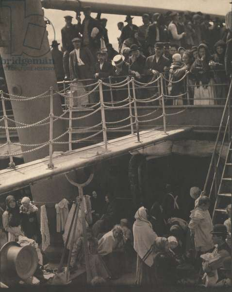 The Steerage, 1907 (photogravure)