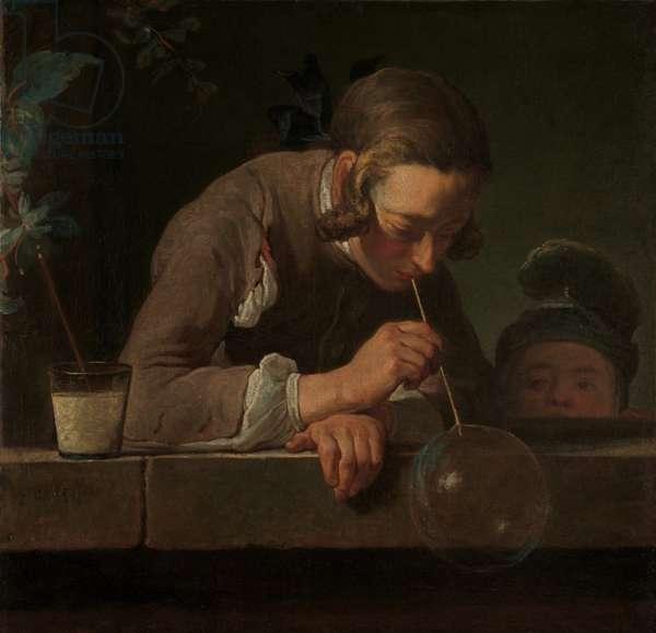 Soap Bubbles, c.1733-34 (oil on canvas)