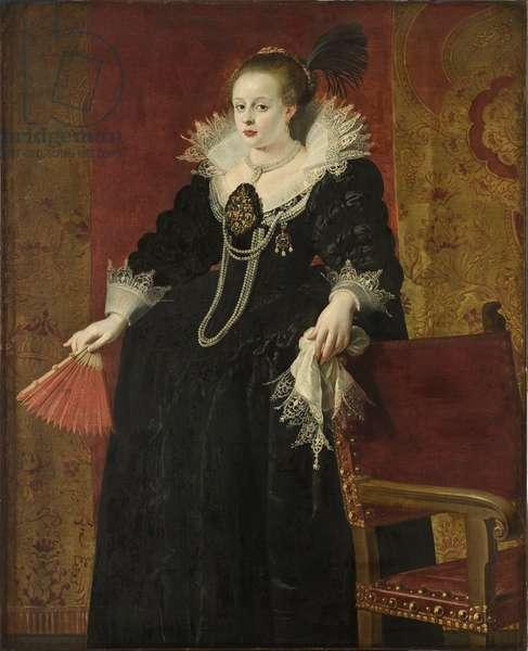 Anne of Austria, Consort of Emperor Mathias, c.1615 (oil on canvas)