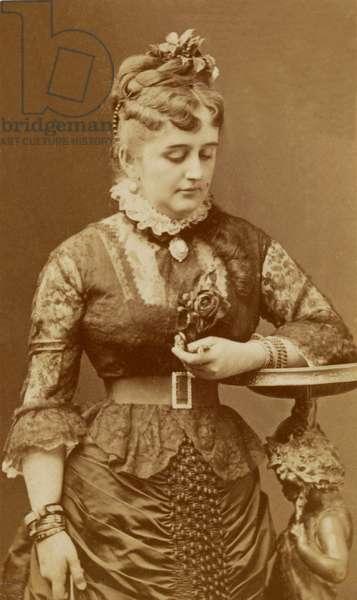 Fanny Lear, c.1875 (b/w photo)