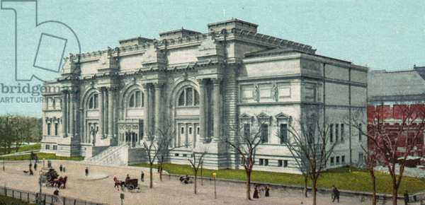 Metropolitan Museum of Art, New York (colour litho)
