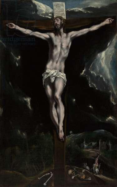 Christ on the Cross, 1600-10 (oil on canvas)