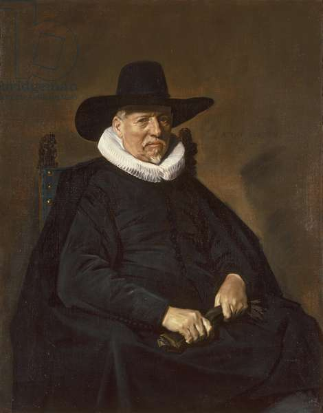 Portrait of an Elderly Man, traditionally called Heer Bodolphe, 1643 (oil on canvas)