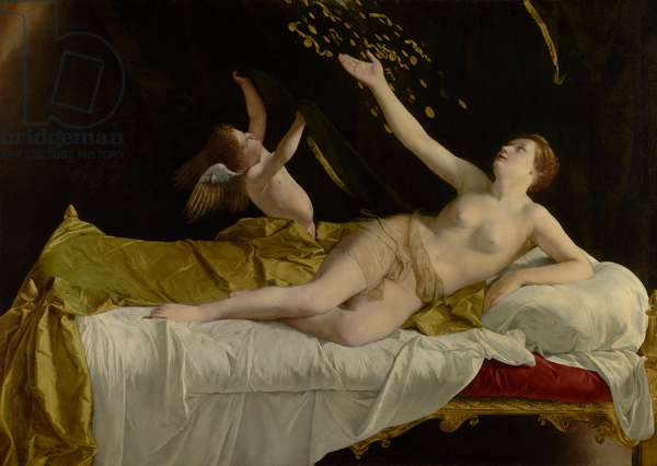 Danaë and the Shower of Gold, 1621-3 (oil on canvas)