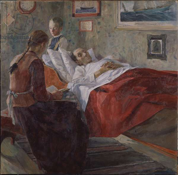 Resignation, 1895 (oil on canvas)