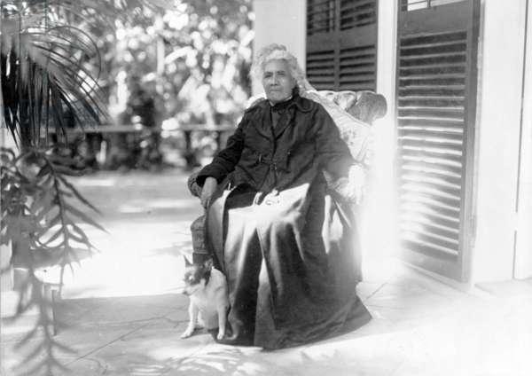 Liliuokalani, Queen of Hawaii, c.1917 (b/w photo)