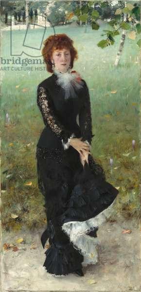 Marie Buloz Pailleron, 1879 (oil on canvas)
