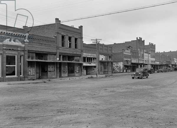 Caddo, Oklahoma, 1938 (b/w photo)