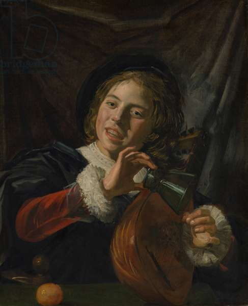 Boy with a Lute, c.1625 (oil on canvas)