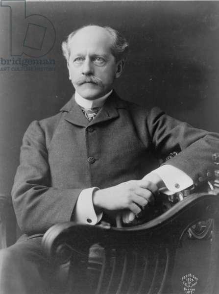 Percival Lowell, c.1904 (b/w photo)