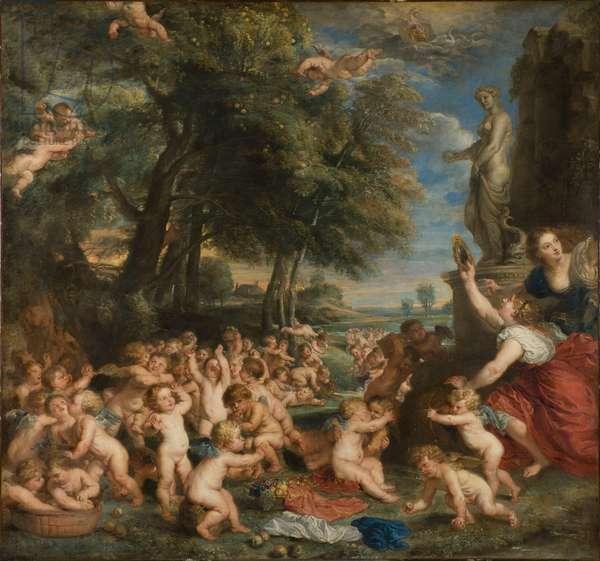 Worship of Venus, c.1635 (oil on canvas)