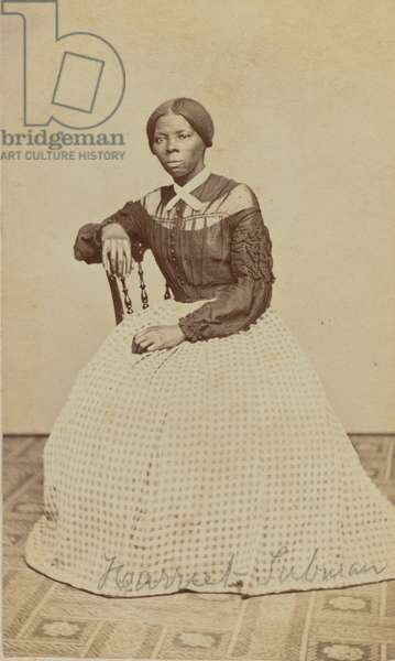Portrait of Harriet Tubman, 1868-69 (albumen print)