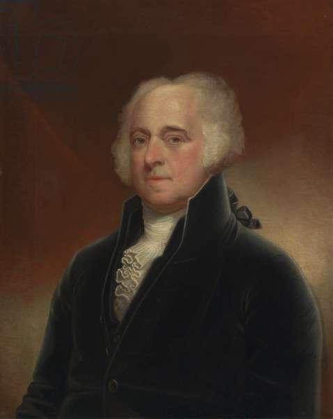 John Adams (1735-1826), c.1815 (oil on canvas)